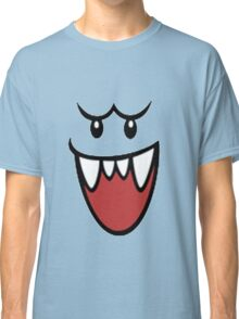 Super Mario Bros Boo Face Classic T-Shirt