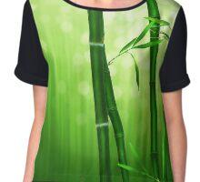 Magic Green Bamboo Chiffon Top