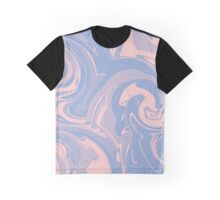 Rose quartz and serenity marble Graphic T-Shirt