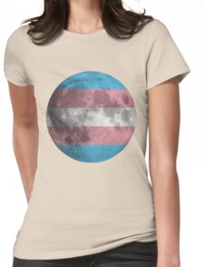 Trans* Moon Womens Fitted T-Shirt