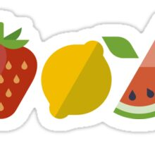 Healthy Fruits (Icons) Sticker