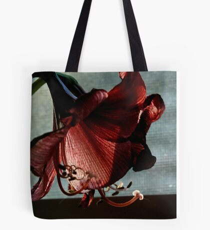 Faded Amaryllis Tote Bag