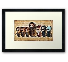 HARRY POOTERBELLIES Framed Print