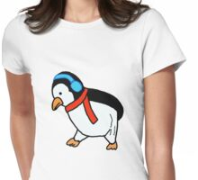 Penguin Mulling Womens Fitted T-Shirt