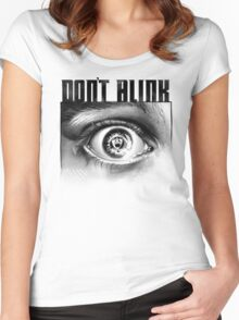 Dont Blink Women's Fitted Scoop T-Shirt
