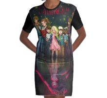 stranger things - netflix Graphic T-Shirt Dress