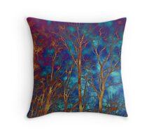 The Woods - Through a Glass Darkly Throw Pillow