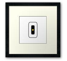 GLaDOS Icon Framed Print