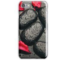 Schwarz-rote Liebe iPhone Case/Skin
