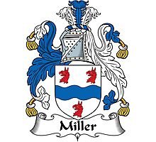 Miller Coat of Arms (Clare, Ireland) Photographic Print