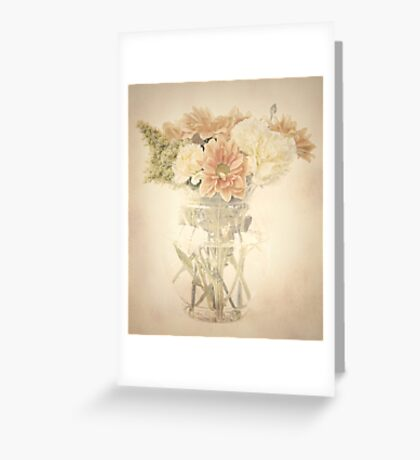 A Posy of Flowers Greeting Card