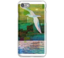 Earth Day Seagull, Beach Wall Art, Ocean, Waterfront, Sea  iPhone Case/Skin