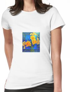 GROWTH OF HOPE Womens Fitted T-Shirt