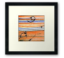 Sea Dance Framed Print