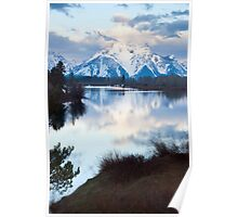 Oxbow Bend an early morning in May Poster