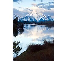 Oxbow Bend an early morning in May Photographic Print