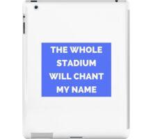 The Whole Stadium Blue iPad Case/Skin