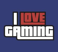 I Love Gaming by DesignFactoryD