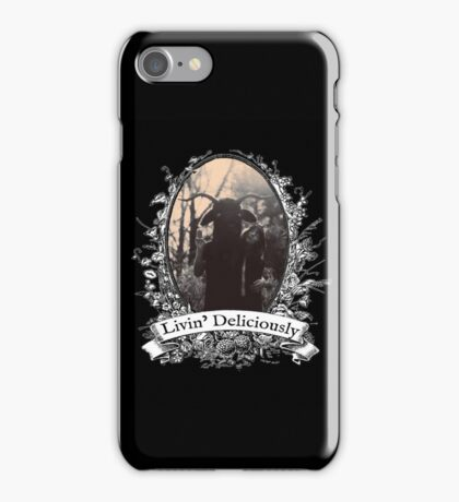 Livin' Deliciously iPhone Case/Skin