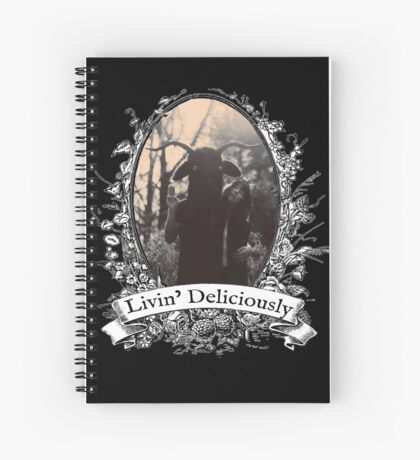 Livin' Deliciously Spiral Notebook