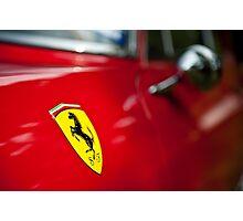 Ferrari - 1964 330GT Logo Photographic Print