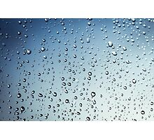 Rain Droplets  Photographic Print
