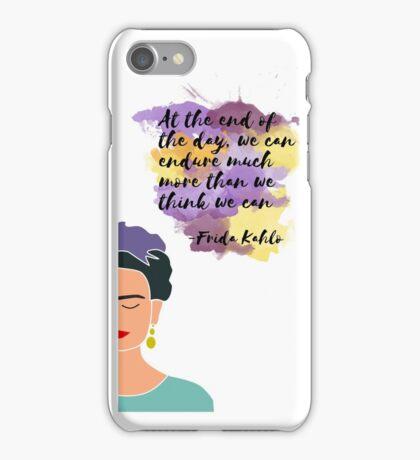 Frida Kahlo - We Can Endure iPhone Case/Skin
