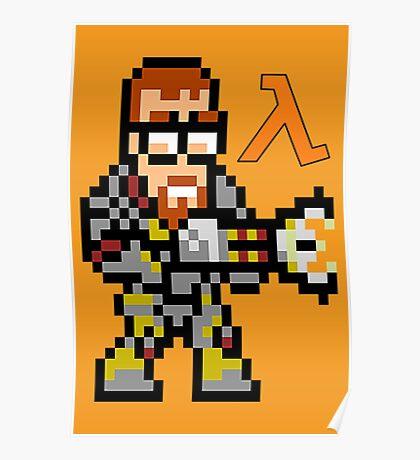 Gordon Freeman: Half Life Poster