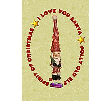 Santa ~ That Jolly Old Elf Photographic Print