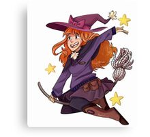 Witchy Witchcraft Canvas Print