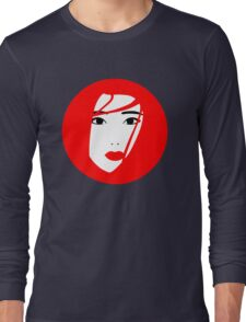 Japan / Japanese Geisha Long Sleeve T-Shirt