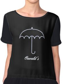 Party With The Penguin at Oswald's in Gotham Chiffon Top