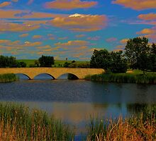 Kilcona Park Bridge by Larry Trupp