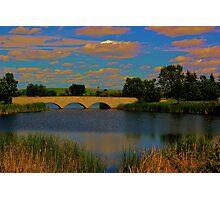 Kilcona Park Bridge Photographic Print