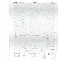 USGS TOPO Map Arkansas AR Nathan 20110713 TM Poster