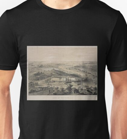 137 City of Brooklyn LI Taken from Rush Street Unisex T-Shirt