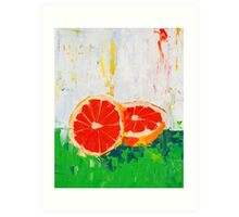Like Shoving a Grapefruit in Your Face Art Print
