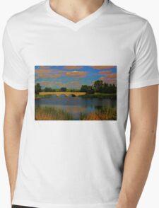 Kilcona Park Bridge Mens V-Neck T-Shirt