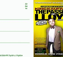 King Kaufman: The Passion of Lloyd (2008) - Movie Poster Postcard by TexWatt