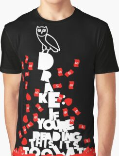 Drake owl Graphic T-Shirt