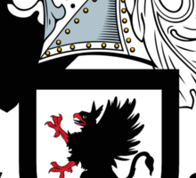 Morgan Coat of Arms (Irish) Sticker