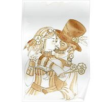 Steam Punk Couple Poster