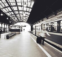Train Station by Dominika Aniola