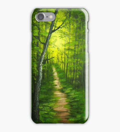 Trails of Olympic National Park iPhone Case/Skin