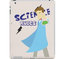 Science Rules iPad Case/Skin