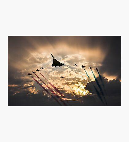 Concorde Arrow pass Photographic Print