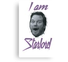 I am Starlord! Canvas Print