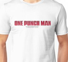 One Punch Man / OPM - Title Text Unisex T-Shirt