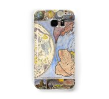 Map of the heavens and the earth (1683) Samsung Galaxy Case/Skin