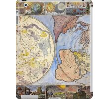 Map of the heavens and the earth (1683) iPad Case/Skin